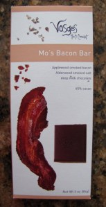 Bacon-flavoured chocolate!